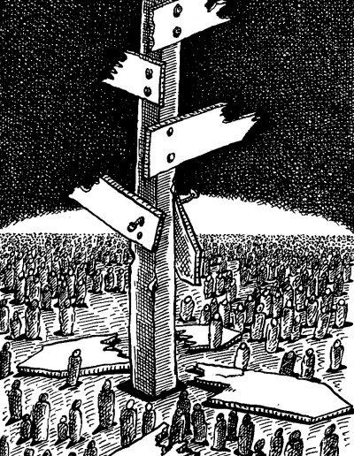 Andrzej Krauze, rysunek