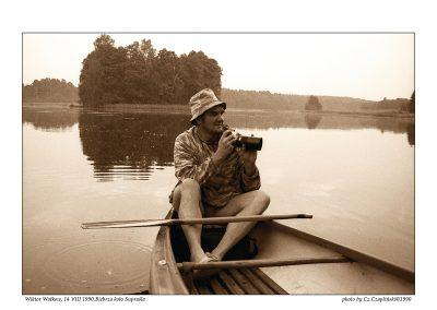 Wolkow 1903-15 081490 Wolkow Wiktor rozlewisko rzeka Biebrza Supras 30x40