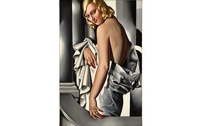 Obraz Tamary Łempickiej wylicytowany w londyńskim Christie`s za kwotę 16,3 mln funtów