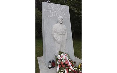 Antoni Janusz Pastwa. Pomnik Stanisława Jankowskiego Agatona. Powiśle, Warszawa.