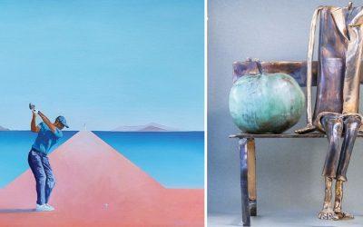 CODZIENNOŚĆ   Wystawa malarstwa Katarzyny Środowskiej i rzeźb Leszka Michalskiego