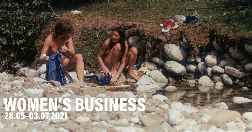 WOMEN'S BUSINESS   otwarcie wystawy